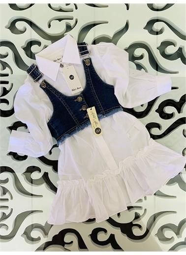 Hilal Akıncı Kids Elbise Beyaz